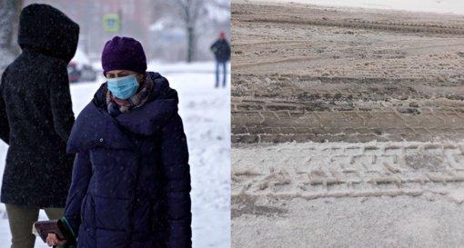 Šiauliuose – gerėjanti koronaviruso situacija ir griežtos priemonės dėl gatvių valymo