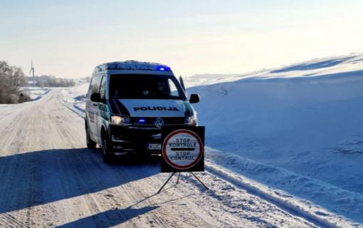 Judėjimo kontrolė Marijampolės apskrityje: neįleistos 263 transporto priemonės