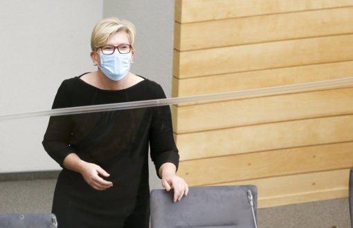 Ingrida Šimonytė: vyriausybės prioritetas – ugdymo grąžinimas mažiausiesiems