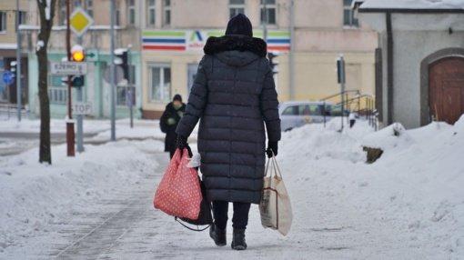 Gatvės virto čiuožykla: ligoninę užplūdo paslydę ir susižaloję šiauliečiai