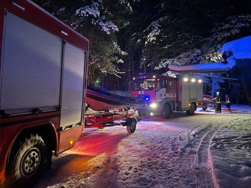 Kauno mariose nuskendo automobilis: narai vykdė žmonių paiešką