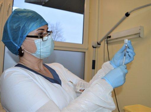 LSMU Kauno ligoninėje žengtas žingsnis COVID-19 pandemijos suvaldymo link