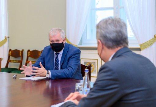 A. Anušauskas apie Lietuvos gynybą: negalime slėpti, Rusija padidino savo pajėgumus