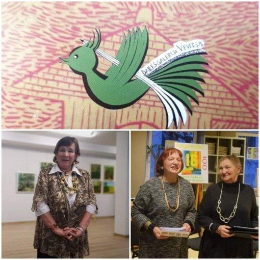 """Igno Šeiniaus premijai teikiamos tautodailininkės Joanos Zinkevičienės ir dailės galerijos """"Vieversys"""" kandidatūros"""
