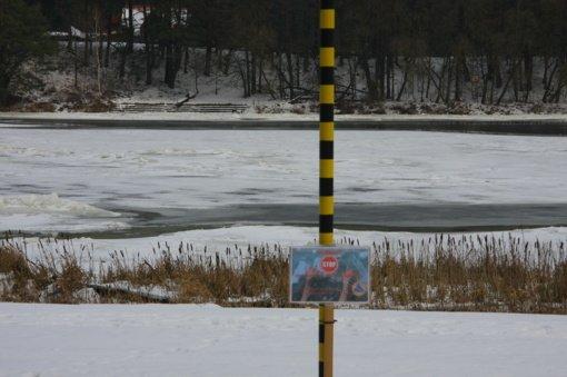 Įspėja birštoniečius: ant Nemuno tyko pavojai