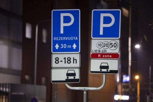 Vilnius centre esančioms ministerijoms siūlo atsisakyti rezervuotų vietų automobiliams