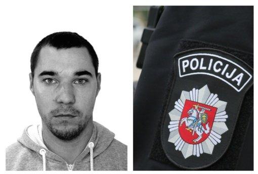 Pakruojo pareigūnai prašo pagalbos: ieškomas arešto bausmės vengiantis vyras
