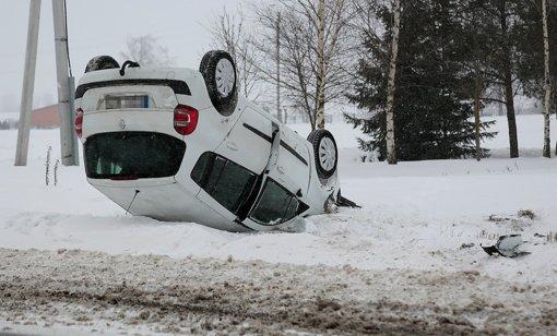 Per dieną – dešimtys avarijų
