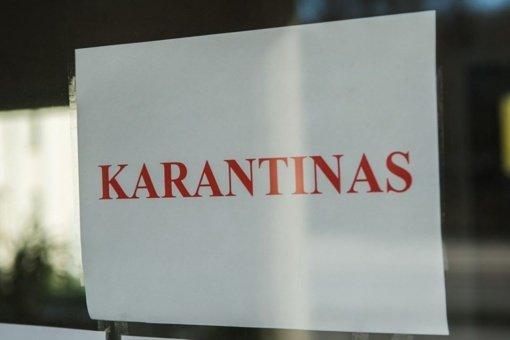 Karantinas Lietuvoje greičiausiai bus pratęstas