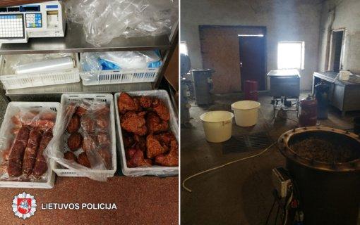 Panevėžio policijos pareigūnų akiratyje – galimai mokesčius slėpusi mėsos perdirbimo įmonė