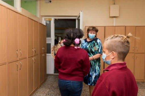 Panevėžyje dalis mokinių ugdosi mokyklose