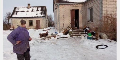 Langakiuose vos nesupleškėjo gyvenamasis namas