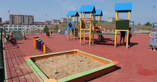 Daugiau žaidimų aikštelių vaikams