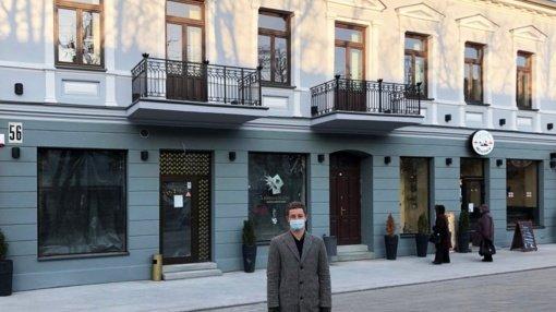 """Prieš 150 metų Kaune statytą namą atgaivinęs verslininkas: """"Su miesto prisidėjimu viskas kur kas paprasčiau"""""""