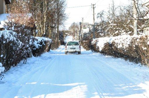 Lietuvos paštas: dėl gausaus sniego sutriko laiškininkų bei kurjerių veikla