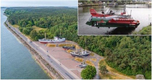 Netrukus Smiltynėje bus eksponuojamas savadarbis povandeninis laivas