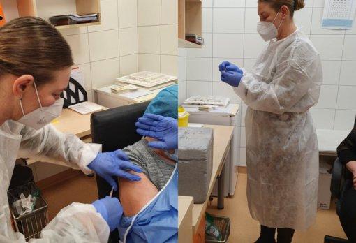 Kauno rajone tęsiamas vakcinacijos procesas