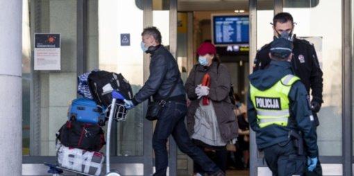 Ž. Gavelienė: reikalavimas izoliuotis atvykusiems iš užsienio – perteklinis
