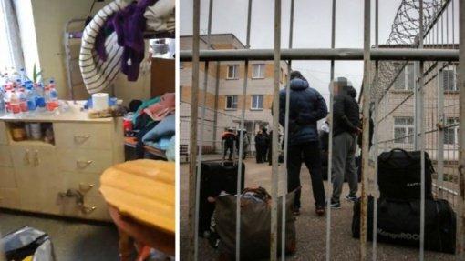 Iš Pravieniškių – sukrečiantys vaizdo įrašai: nuteistieji gyvena lyg silkės statinėje, be vandens ir tualeto