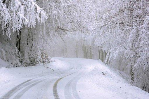 Pakruojo rajono kelius užklojo sniegas: savivaldybė prašo gyventojų kantrybės