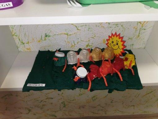 Mažieji vilniečiai mokosi rūšiuoti atliekas ir naudoti daiktus dar kartą