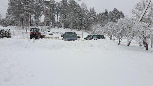 Ignalinos rajono keliuose eismo sąlygos gana sudėtingos