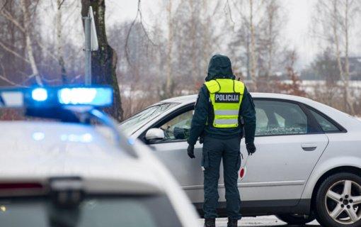 Pareigūnai didžiausią dėmesį skyrė pavojingo ir chuliganiško vairavimo stebėsenai
