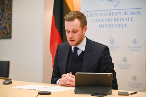 G. Landsbergis sureagavo į  A. Navalno įkalinimą: ES dialogas su Kremliumi įmanomas tik sankcijų kalba