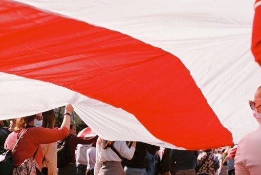 Į policiją dėl Baltarusijos režimo smurto kreipėsi Lietuvos pilietė