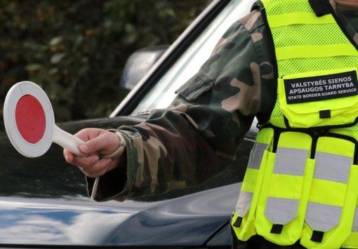Šalčininkų kontrolės punkte įkliuvo suklastotą vairuotojo pažymėjimą pateikęs baltarusis