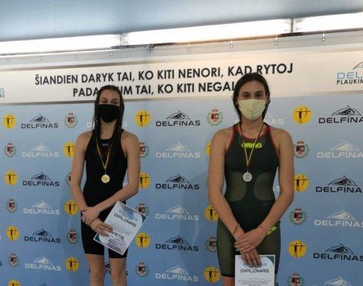Plaukikai neakivaizdžiai varžėsi ilgų nuotolių varžybose