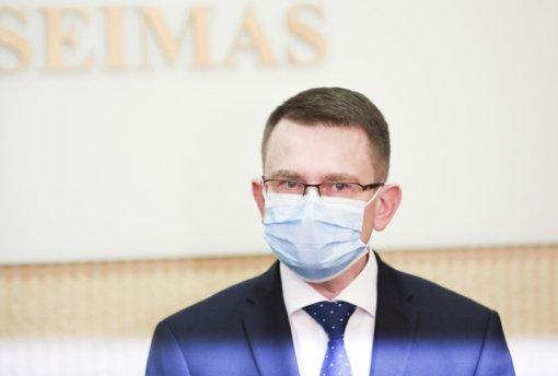 A. Dulkys apie išankstinį testą prieš atvykstant į Lietuvą: siekiama apsisaugoti nuo viruso mutacijų