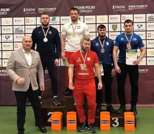 Imtynininkas L. Krasauskas tarptautiniame turnyre Lenkijoje užėmė antrą vietą