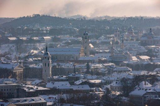 Dėl gyvenamųjų namų šildymo kietuoju kuru Vilniuje fiksuojamas padidėjęs užterštumas