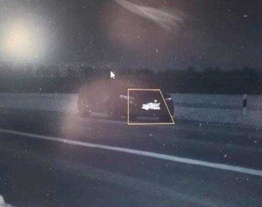 Ukmergės rajone užfiksuotas greičio viršijimo rekordas: lėkė 214 kilometrų per valandą greičiu