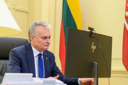 Prezidento ir užsienio reikalų ministro pokalbyje aptarti svarbiausi užsienio politikos darbotvarkės klausimai