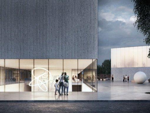 Stasio Eidrigevičiaus menų centro vieta – greta kitų Panevėžio kultūros židinių
