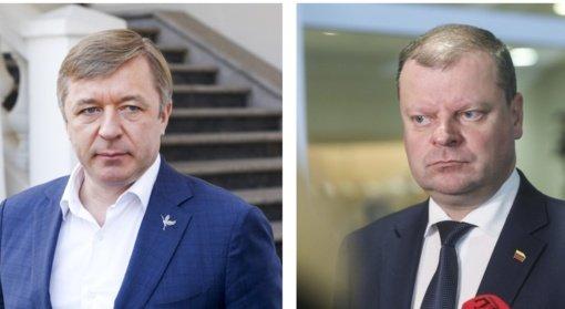 """Šešėlinei """"valstiečių"""" Vyriausybei vadovaus R. Karbauskis, S. Skvernelis liko be posto"""