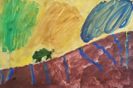 Laiptų galerijoje - virtualios edukacijos Sigitos Maslauskaitės tapybos parodoje