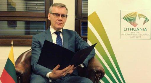 Jungtinių Tautų Žmogaus teisių taryboje Lietuva pasmerkė karinį perversmą Mianmare