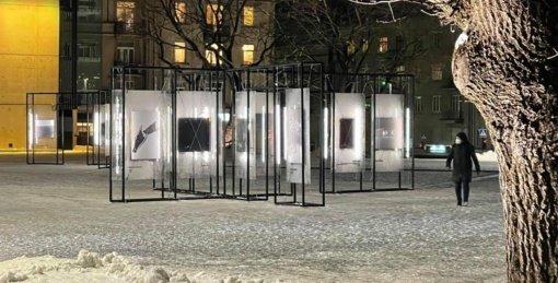 """Prisikėlimo aikštėje – šiuolaikinės fotografijos paroda """"Homo Absentia"""""""