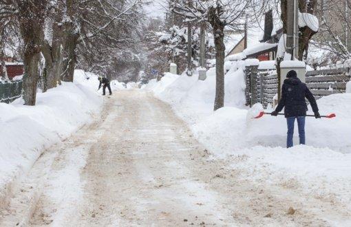 Kelininkai: sudėtingesnės eismo sąlygos yra Rokiškio, Zarasų, Ignalinos ir Švenčionių rajonuose