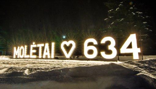 Molėtai švenčia 634-ąjį gimtadienį