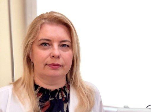 Žūvančiųjų gelbėjimo kryžiumi  apdovanota Radviliškio ligoninės darbuotoja Jolanta Karanauskienė
