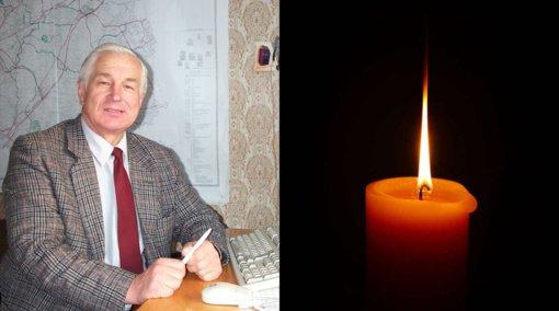 Į amžinybę išėjo buvęs Varėnos savivaldybės administracijos darbuotojas S. Alekna