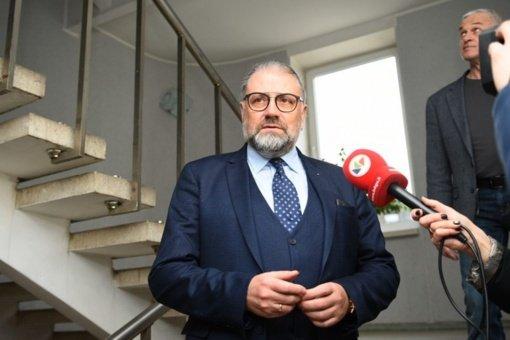 Teismui perduota Panevėžio mero R. Račkausko byla dėl kyšio iš krepšinio klubo vadovo