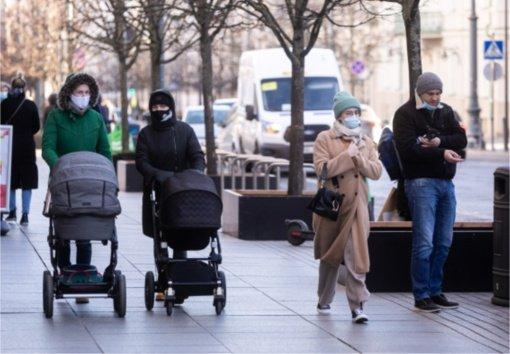 Per praėjusią parą nustatyti 624 nauji COVID-19 atvejai, nuo šios ligos mirė 13 žmonių