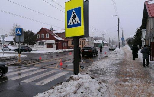Kauno policija ieško perėjoje moterį partrenkusio BMW vairuotojo