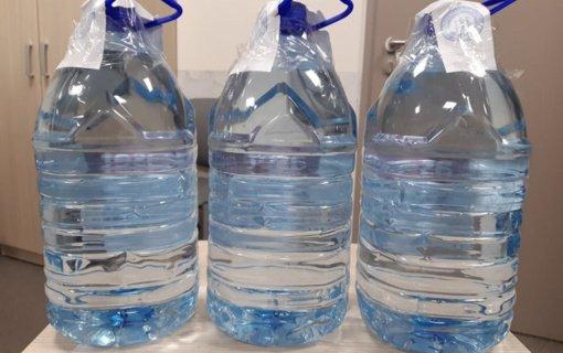 Rudaminos gyventojos namuose rasta 15 litrų spirito