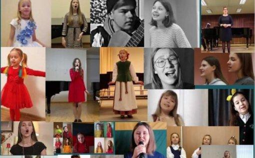 """Nuaidėjo respublikinis lietuviškų dainų festivalis """"Neužmirštuolė gyva"""""""